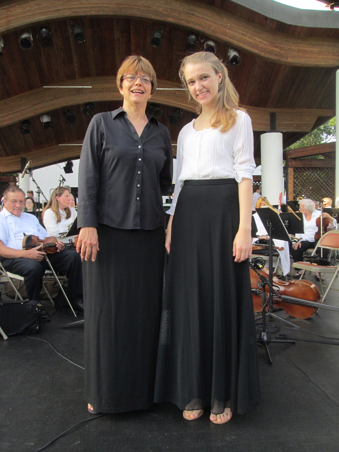 Roberta with Sophie